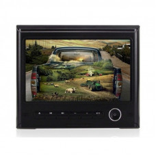 J-6618, 9 inch headrest DVD player
