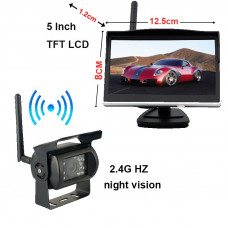 "SP-160 Rear view camera WiFi + 5"" monitor"