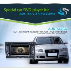 AUD-644GD Audi A4 Bilstereo